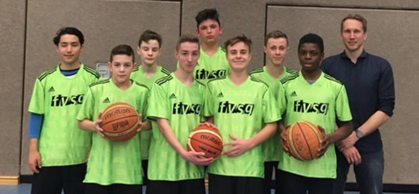 Erfolgreiche Kreismeisterschaften für die Basketballmannschaften des FvSG