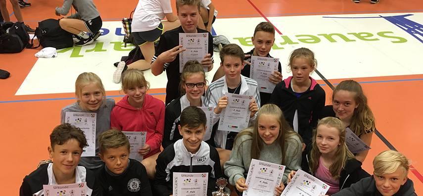 FvSG Westfalensieger in der Leichtathletik