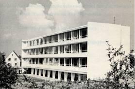 Das dritte Schulgebäude des Freiherr-vom-Stein-Gymnasiums lag am Strotweg und beherbergte die Schule von 1960 bis 1976.