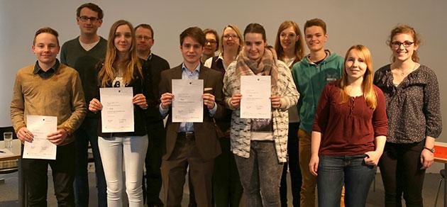 Jugend debattiert – Schulfinale 2015