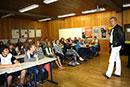 Dirigent Frank Beermann besucht das FvSG