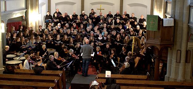 Musik verbindet - Erfolgreiches Chorprojekt mit der Bünder Kantorei und dem Mädchenchor