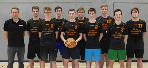 Das Freiherr-vom-Stein-Gymnasium gewinnt Basketball-Krimi