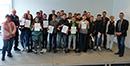Busbegleiterzertifikate an 20 Schüler ausgeteilt