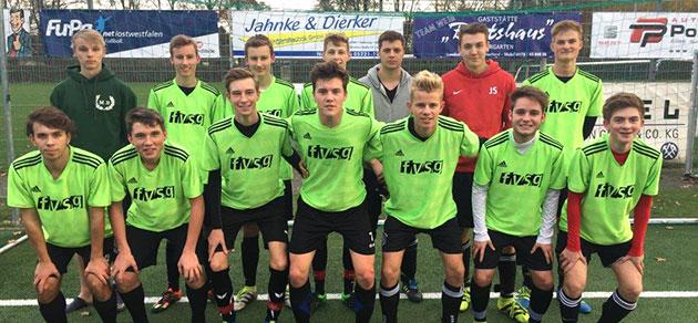 Freiherr-vom-Stein-Gymnasium ist Kreismeister im Schulfußball Jungen WK I