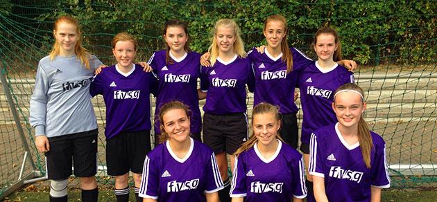 Fußballerinnen des FvSG auf Kreisebene erfolgreich