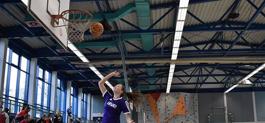 Basketball-Begeisterung am Freiherr-vom- Stein-Gymnasium