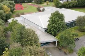 Die Siegfried-Moning-Sporthalle