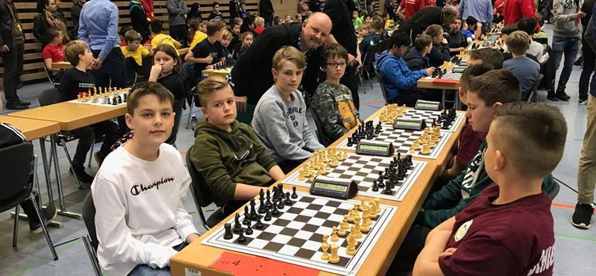 NRW-Schulschachmeisterschaften 2019: FvSG Bünde wiederholt tolle Leistungen aus dem Vorjahr