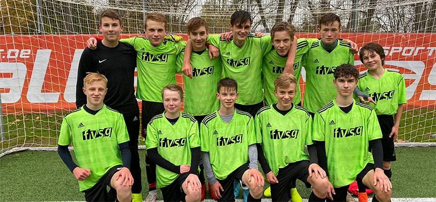 Auch Jungenfußballer erfolgreich