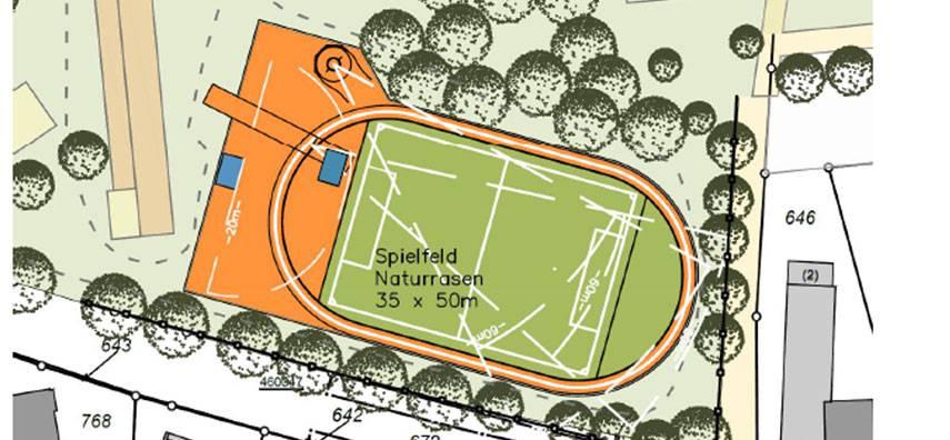 Neue Sportanlagen am FvSG