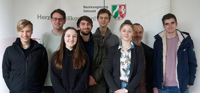 Sandra Glaubitz (EF) debattiert für Ostwestfalen-Lippe