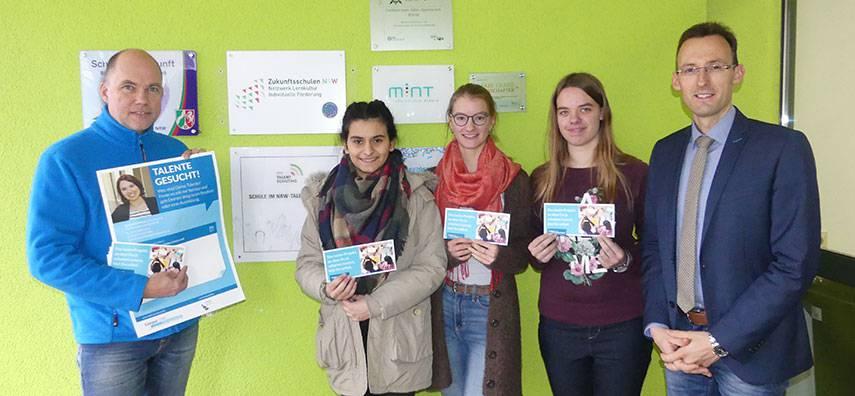 Freiherr-vom-Stein-Gymnasium als Schule im NRW-Talentscouting ausgezeichnet