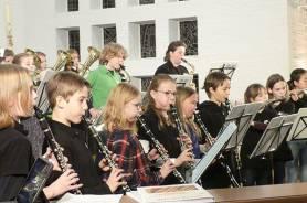 Ein vielfältiges Musikleben mit der Musikklasse im Konzert....