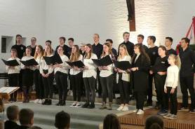 .... und mit dem Chor im Konzert