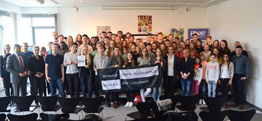 'Freiherr' ist offiziell 'Schule ohne Rassismus - Schule mit Courage'