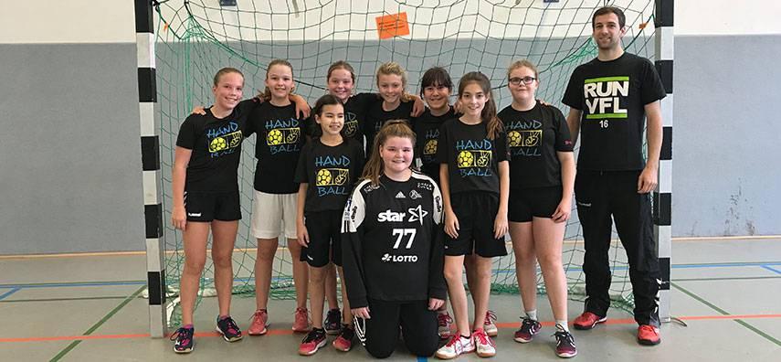 Ergebnisse der Schulmannschaft Handball