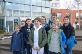 Die erfolgreichen Teilnehmer an der NRW-Schachmeisterschaft des FvSG