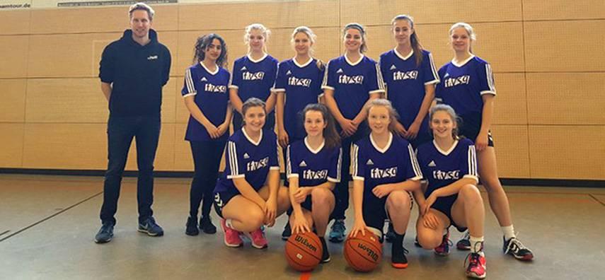 Basketball-Mädchenmannschaft des FvSG wird Vize-Bezirksmeister in Borchen